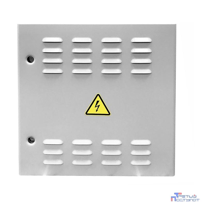 ЦМО! Шкаф уличный всепогодный настенный укомплектованный 6U (Ш600 х Г300), комплектация T2-IP65 (ШТВ-Н-6.6.3-4ААА-Т2)