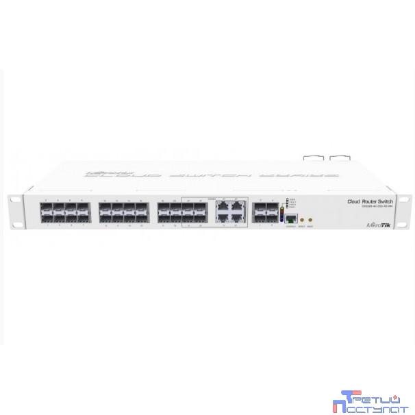 MikroTik CRS328-4C-20S-4S+RM Коммутатор в стойку, 20х SFP, 4x SFP+ , 4х RJ45/SFP