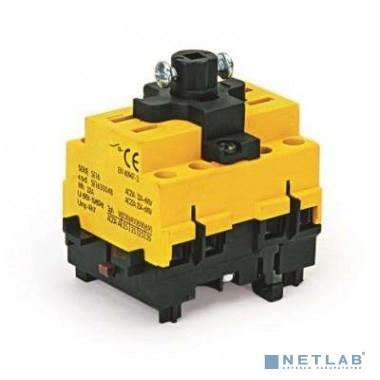 Dkc AE1603B Выключатель нагрузки трёх полюсный  с установк. на монтажн.плату
