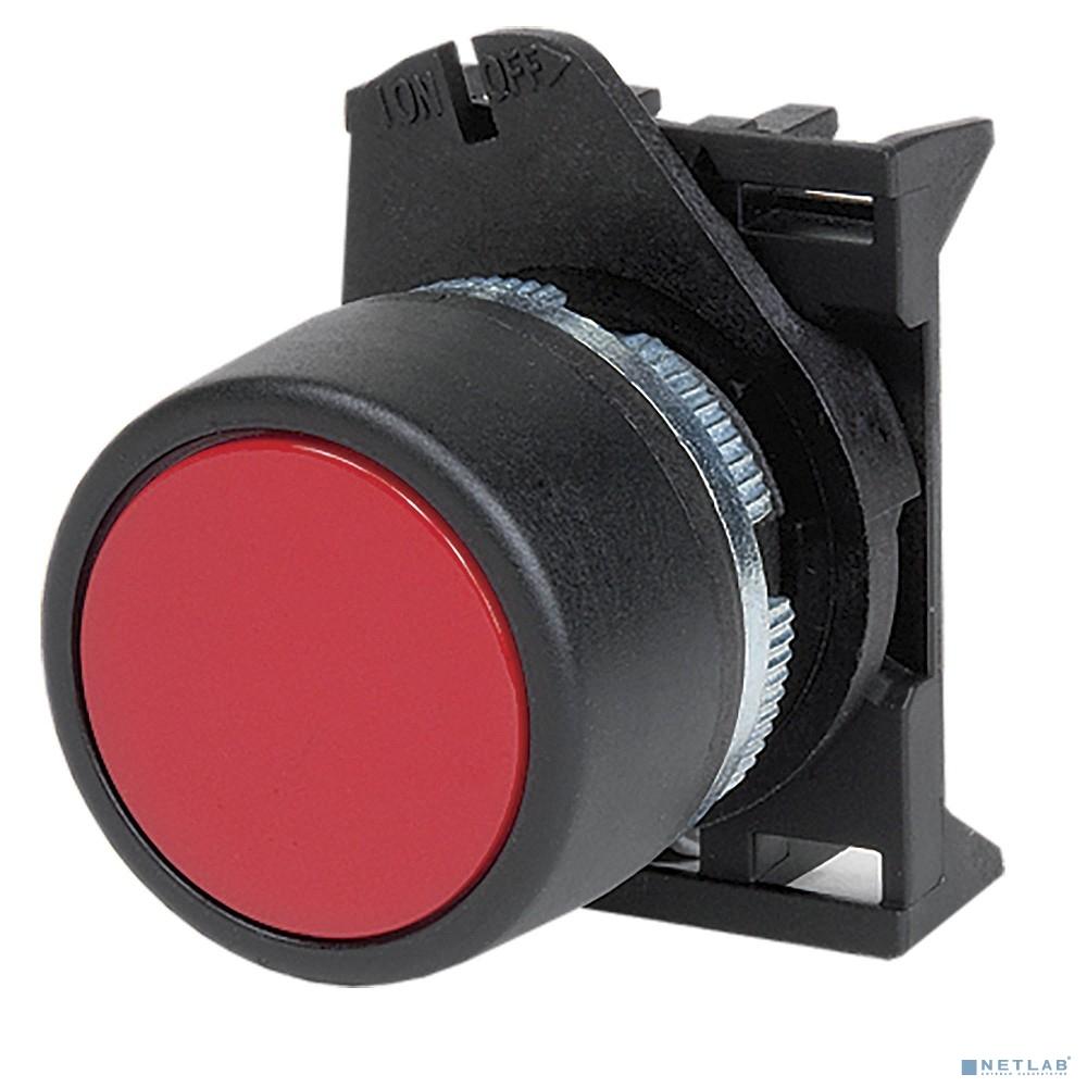 Dkc ABDLM1 Кнопка плоская прозрачная с  фиксацией, красная
