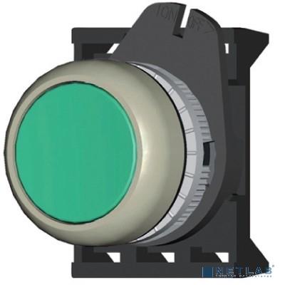 Dkc ABDLM2 Кнопка плоская прозрачная с  фиксацией, зеленая