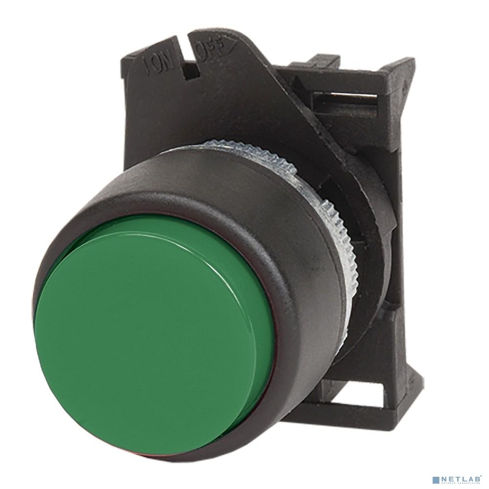 Dkc ABDLR2 Кнопка выпуклая  прозрачная без фиксации, зеленая
