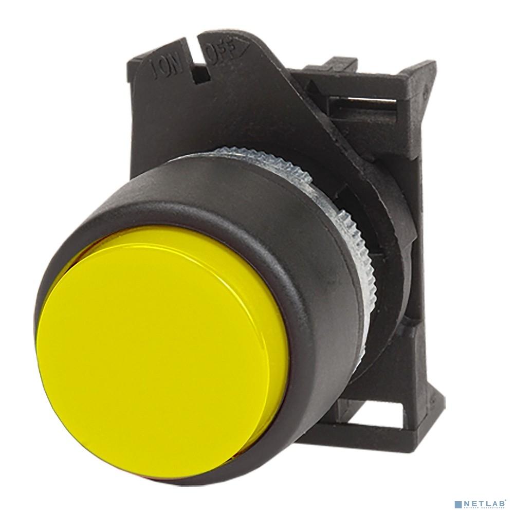 Dkc ABDLR3 Кнопка выпуклая прозрачная без фиксации,  желтая