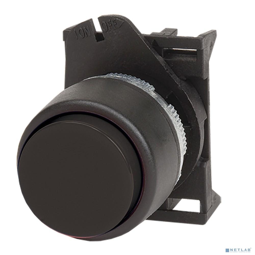 Dkc ABDTR6 Кнопка выпуклая без фиксации, черная