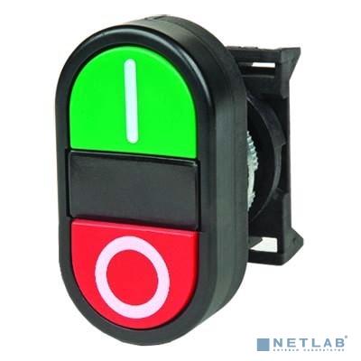 Dkc ABFLM Кнопка двойная плоская с линзой для подсветки