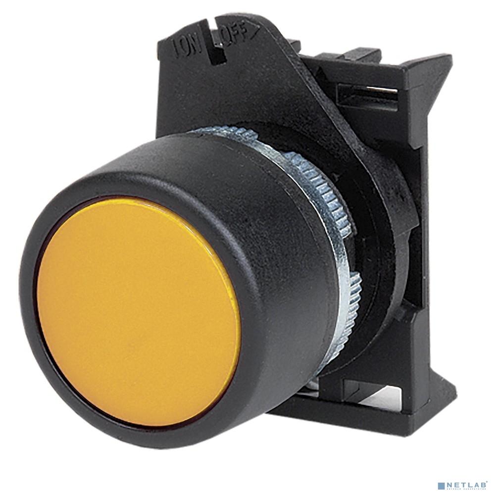 Dkc ABHLR3 Кнопка плоская прозрачная без  фиксации, желтая