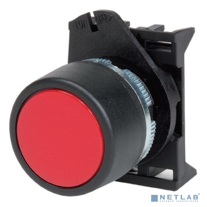 Dkc ABHTR5C Кнопка плоская без фиксации, белая - серия Хром