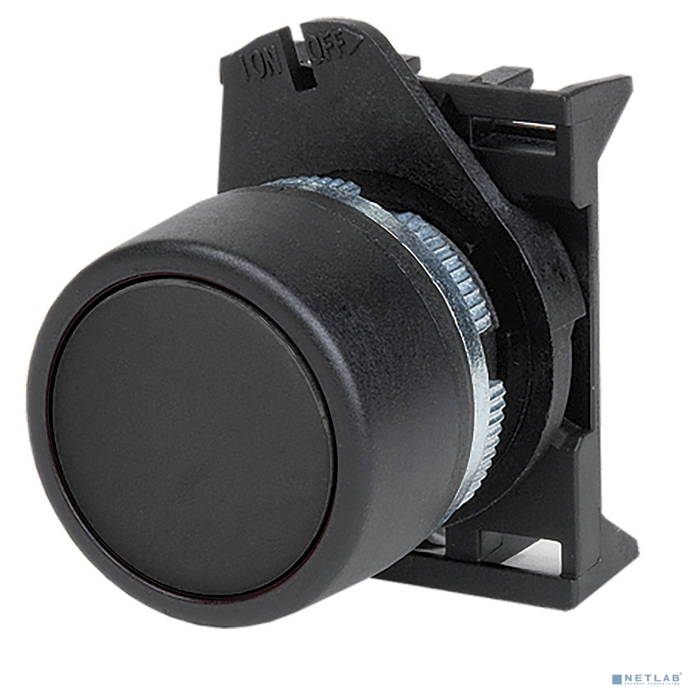Dkc ABHTR6 Кнопка плоская без фиксации, черная