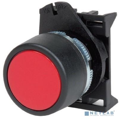 Dkc ABHTR6C Кнопка плоская без фиксации, черная - серия Хром