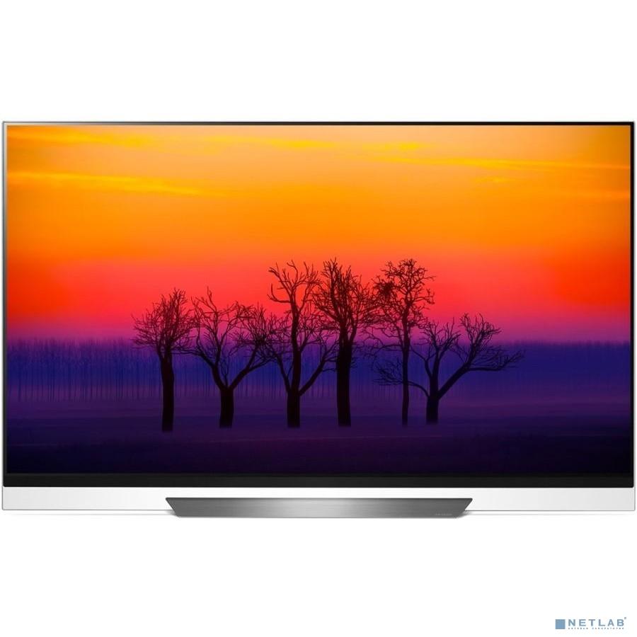 LG 55'' OLED55E8PLA черный {Ultra HD/100Hz/DVB-T2/DVB-C/DVB-S2/USB/WiFi/Smart TV (RUS)}
