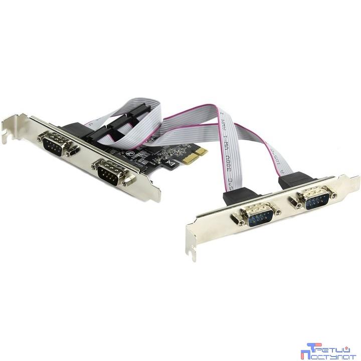 ORIENT XWT-PE4SV1 RTL  PCI-Ex to COM 4-port (ASIX AX99100)