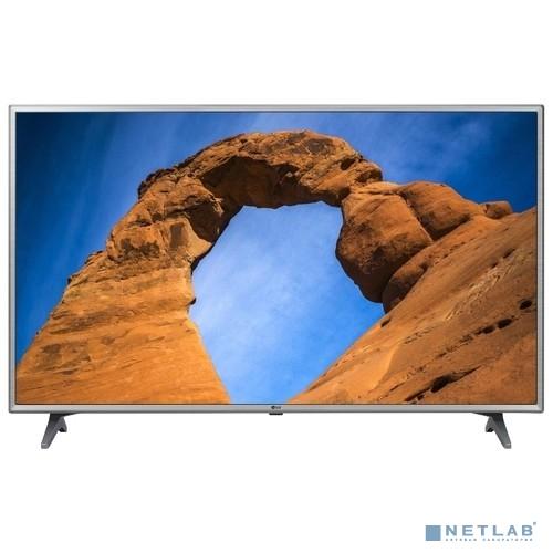LG 43'' 43LK6100PLA серебристый {FULL HD/50Hz/DVB-T2/DVB-C/DVB-S2/USB/WiFi/Smart TV (RUS)}