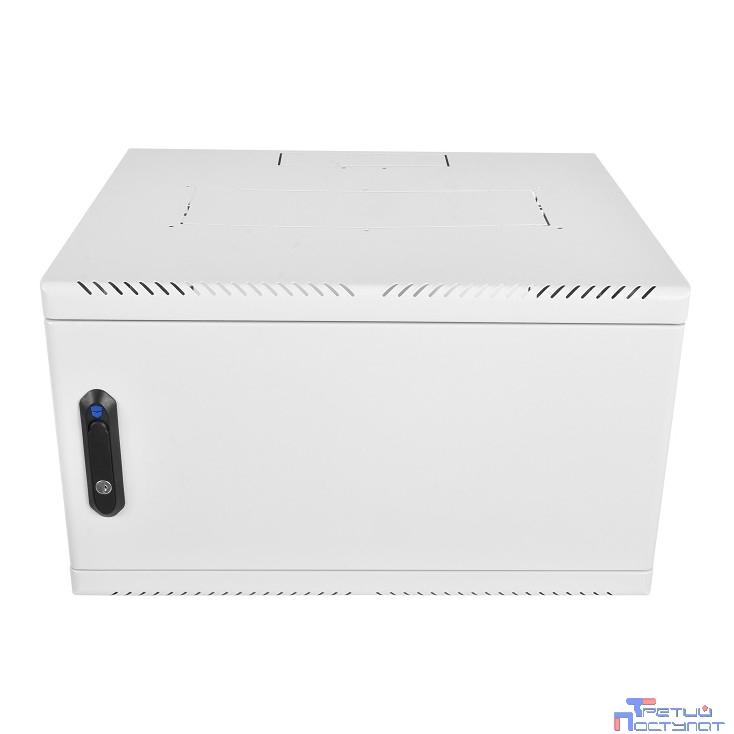 ЦМО! Шкаф телеком. настен, 9U, 600x480 дверь металл (ШРН-9.480.1) (1 коробка)