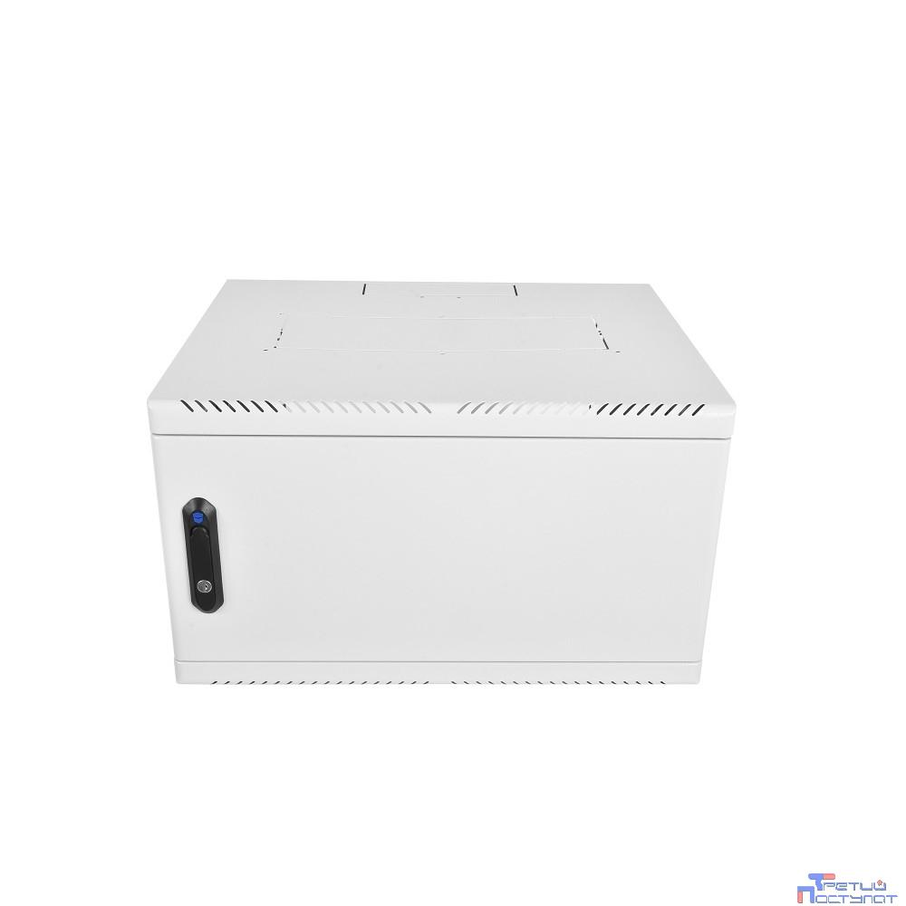 ЦМО! Шкаф телеком. настен, 15U, 600x650, дверь металл (ШРН-15.650.1) (1 коробка)