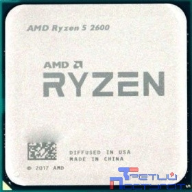 CPU AMD Ryzen 5 2600 BOX {3.9GHz, 19MB, 65W, AM4, with Wraith Stealth cooler}