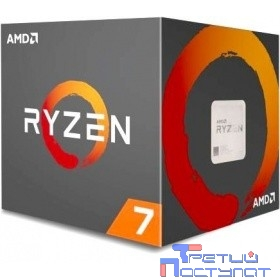 CPU AMD Ryzen 7 2700 BOX {3.2-4.1GHz, 20MB, 65W, AM4, with Wraith Spire (LED) cooler}