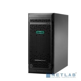 Сервер HP ProLiant ML110 Gen10, 1x 3104 Xeon-B 6C 1.7GHz, 1x8GB-R DDR4, S100i/ZM (RAID 0,1,5,10) noHDD (4 LFF 3.5'' NHP) 1x350W NHP NonRPS, 2x1Gb/s, DVDRW, iLO5, Tower-4,5U, 3-3-3 (P03684-425)
