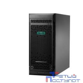 Сервер HP ProLiant ML110 Gen10, 1x 3106 Xeon-B 8C 1.7GHz, 1x16GB-R DDR4, S100i/ZM (RAID 0,1,5,10) noHDD (4 LFF 3.5'' HP) 1x550W NHP NonRPS, 2x1Gb/s, noDVD, iLO5, Tower-4,5U, 3-3-3 (P03685-425)