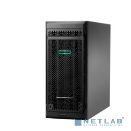 Сервер HP ProLiant ML110 Gen10, 1x 3106 Xeon-B 8C 1.7GHz, 1x16GB-R DDR4, S100i/ZM (RAID 0,1,5,10) noHDD (4 LFF 3.5'' HP) 1x550W NHP NonRPS, 2x1Gb/s, noDVD, iLO5, Tower-4,5U, 3-3-3 (P03685-425)