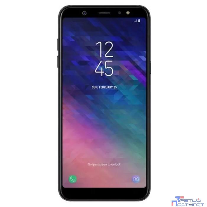 Samsung Galaxy A6 (2018) SM-A600F black (чёрный) DS {5.6