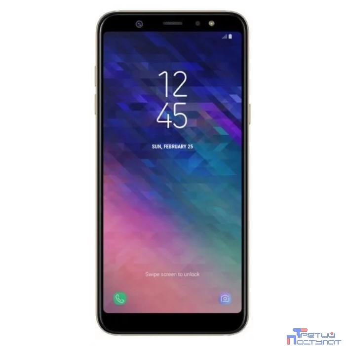 Samsung Galaxy A6 (2018) SM-A600F gold (золотой) DS {5.6