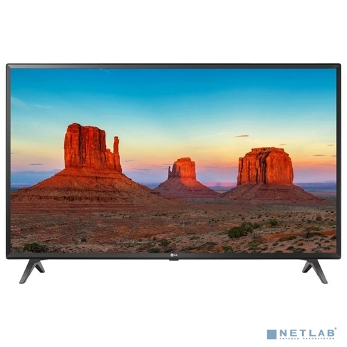 LG 49'' 49UK6300PLB черный {Ultra HD/50Hz/DVB-T2/DVB-C/DVB-S2/USB/WiFi/Smart TV (RUS)}