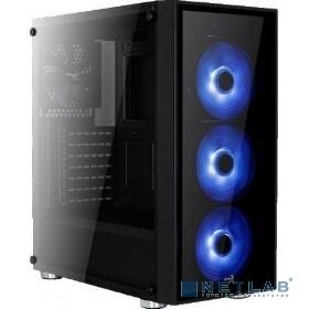 MidiTower  AeroCool ''Quartz Blue'' ATX 2.03,  без б/п   68941