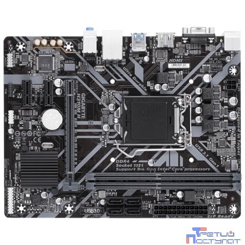 Gigabyte H310M H (V2.0) RTL {S1151 H310 PCI-E Dsub+HDMI GbLAN  SATAIII mATX 2DDR4}