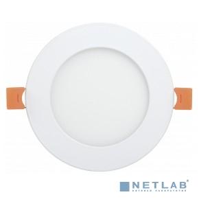 Iek LDVO0-1605-1-12-K02 Светильник ДВО 1605 белый круг LED 12Вт 4000K IP20 {алюм. корпус, диам 170 мм}