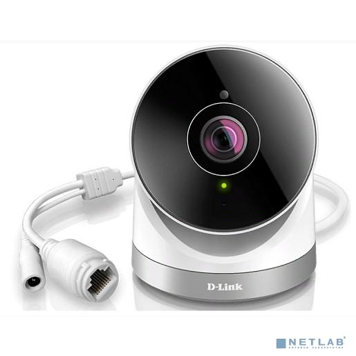 D-Link DCS-2670L/A1A 2 Мп внешняя беспроводная облачная сетевая Full HD-камера, день/ночь, с ИК-подсветкой до 10 м, углом обзора по горизонтали 180°, WDR и слотом для карты microSD
