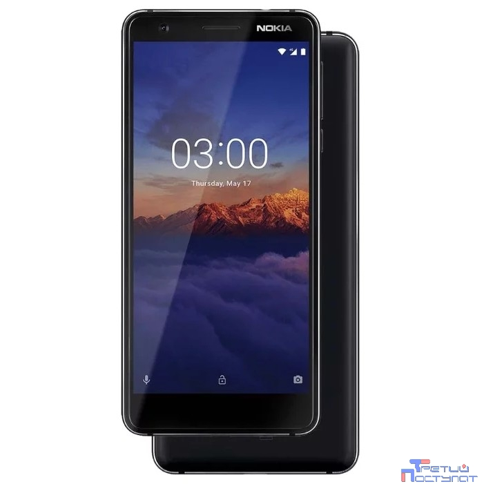 NOKIA 3.1 DS BLACK [11ES2B01A01]