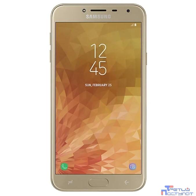 Samsung Galaxy J4 (2018) SM-J400F/DS (золотой) 32Гб {5.5