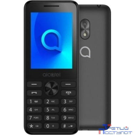 Alcatel 2003D Dark Grey  2Sim 2.4