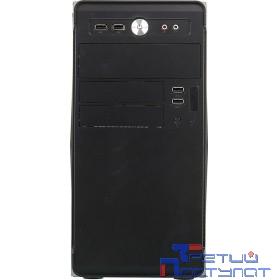 Корпус Accord ACC-B022 черный без БП mATX 1x80mm 1x92mm 2x120mm 4xUSB2.0 audio