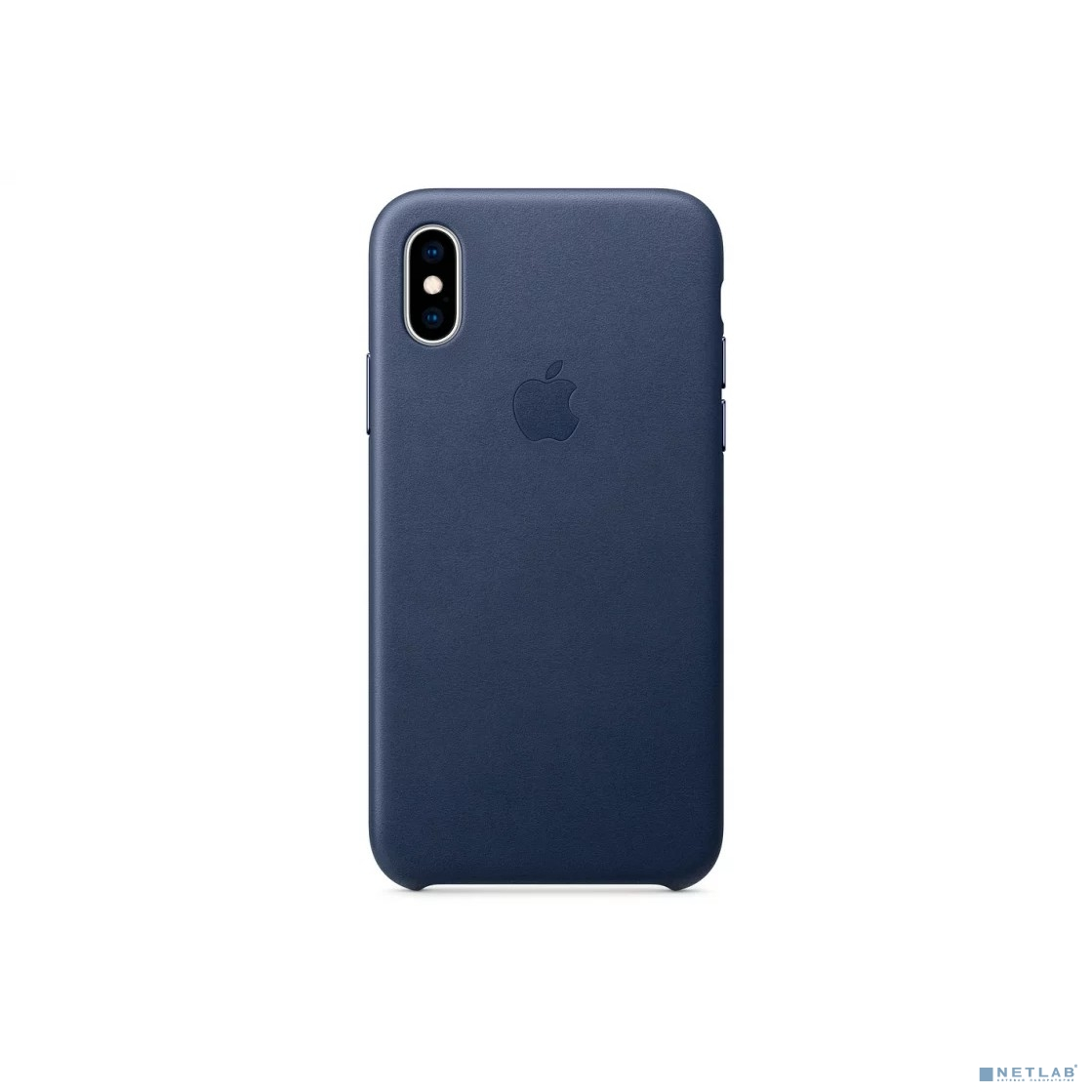 iPhone XS Leather Case - Midnight Blue [MRWN2ZM/A]