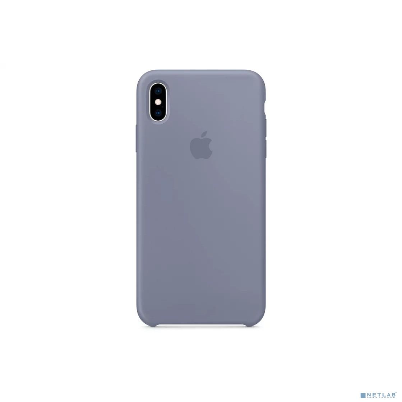 iPhone XS Max Silicone Case - Lavender Gray
