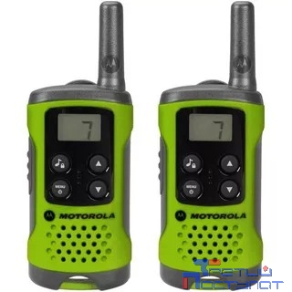 Motorola P14MAA03A1BP TLKR T41 Green Радиостанция  (комплект из 2 радиостанций)