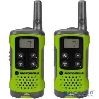 Motorola P14MAA03A1BP TLKR T41 Green Радиостанция  (комплект из 2 радиостанций){ + подарок}