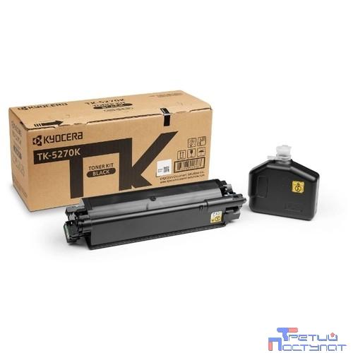 Kyocera-Mita TK-5270K Тонер-картридж,Black {P6230cdn/M6230cidn/M6630cidn (6000стр)}