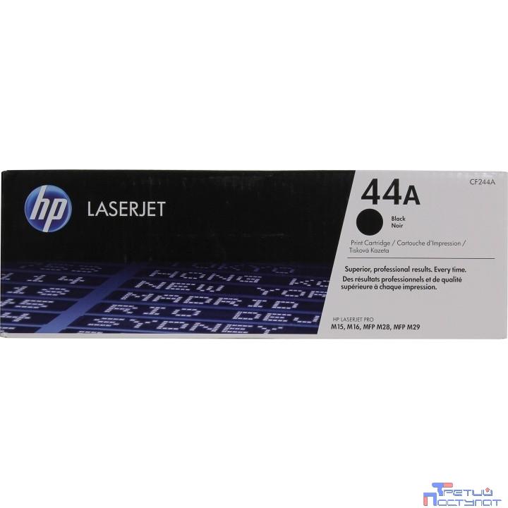 HP CF244A Катридж, Black  {LJ Pro M15/M16 MFP M28/M29, (1000 стр)}