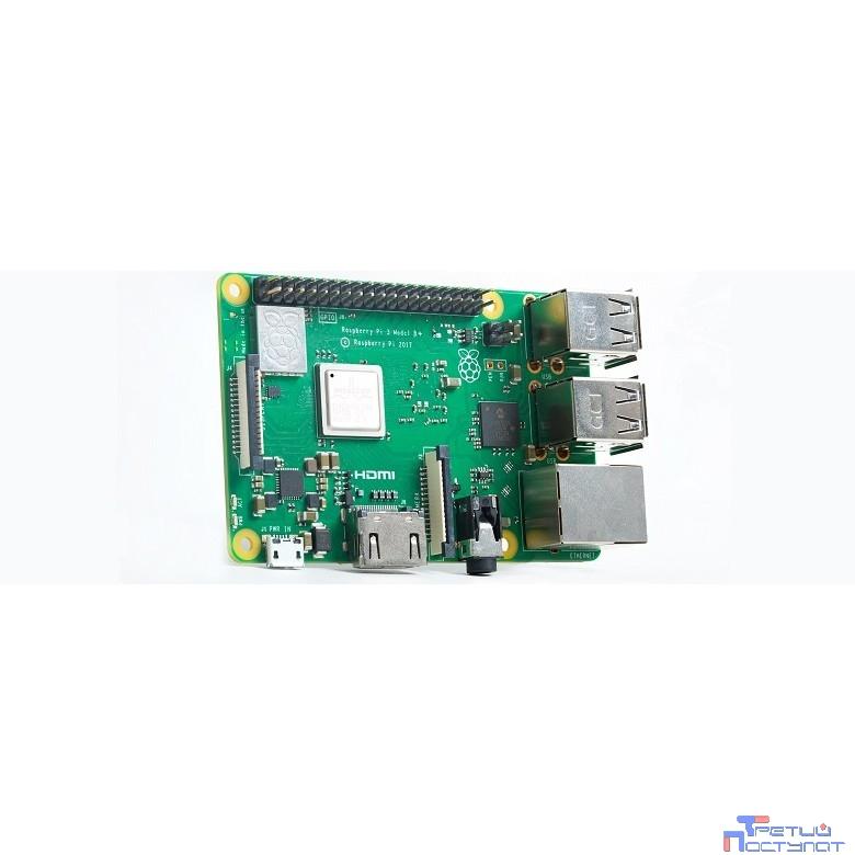 Микрокомпьютер Raspberry Pi 3 model B+ (43541)