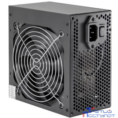 Б/питания Winard 500W (500WA12) ATX, 12cm fan, 20+4pin +4Pin, 2*SATA, 1*FDD, 4*IDE черный RTL