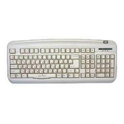 Oklick 300M Office Keyboard PS/<wbr>2  + USB порт (белая) [REX45595]
