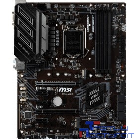 MSI Z390-A PRO  RTL {Socket 1151, iZ390, 4*DDR4, 2*PCI-E, SATA 6Gb/s + RAID, 1*M.2, ALC892 8ch, GLAN, USB3.1, D-SUB + DVI-D + DP, ATX}