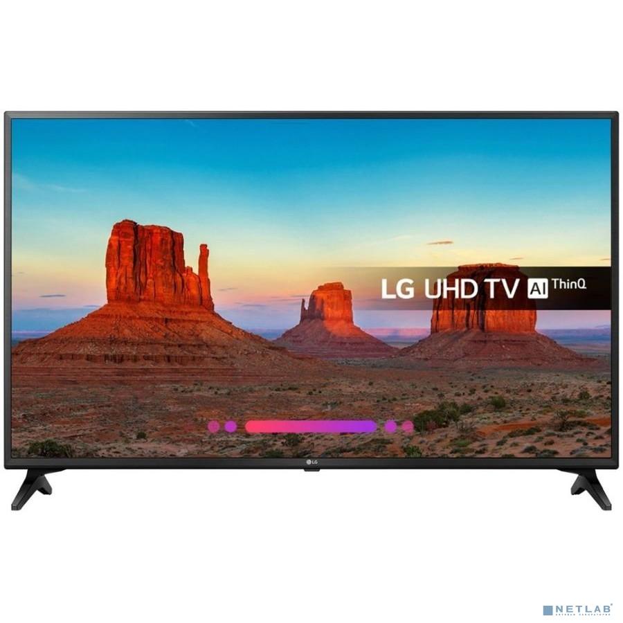 LG 55'' 55UK6200PLA черный {Ultra HD/50Hz/DVB-T2/DVB-C/DVB-S2/USB/WiFi/Smart TV}