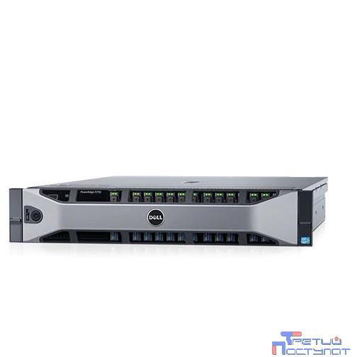 Сервер Dell PowerEdge R730 1xE5-2620v4 1x16Gb x8 1x1Tb SATA H730 iD8En 2x750W 3Y PNBD (R730xd-ADBC-41t CTO)