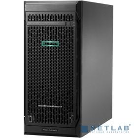 Сервер HP ProLiant ML110 Gen10, 1x 4110 Xeon-S 8C 2.1GHz, 1x16GB-R DDR4, S100i/ZM (RAID 0,1,5,10) noHDD (8/16 SFF 2.5'' HP) 1x800W (up2), 2x1Gb/s, noDVD, iLO5, Tower-4,5U, 3-3-3 (P03687-425)