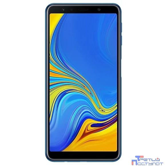 Samsung Galaxy A7 (2018) SM-A750FN/DS blue (синий) 64Гб