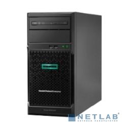 Сервер HP ProLiant ML30 Gen10, 1x Xeon E-2124 4C 3.3GHz, 1x8GB-U DDR4, S100i/ZM (RAID 0,1,5,10) noHDD (4/6 LFF 3.5'' NHP) 1x350W NHP NonRPS (up2x500), 2x1Gb/s, noDVD, ClearOS, Tower-4U (P06781-425)