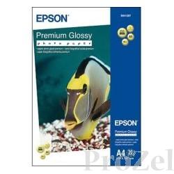 C13S041287 EPSON Глянцевая фотобумага А4, 255 г/м2, 20 л.